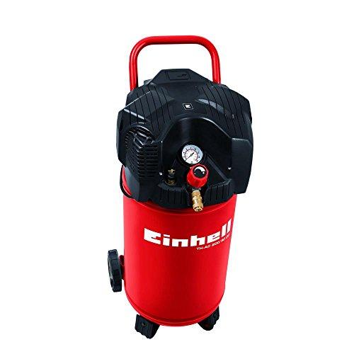 Compressore verticale salvaspazio a secco 24 Lt 1,5 HP 8 BAR professionale