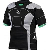 GILBERT Kryten Xact 10Rugby Body Armour schwarz/grau