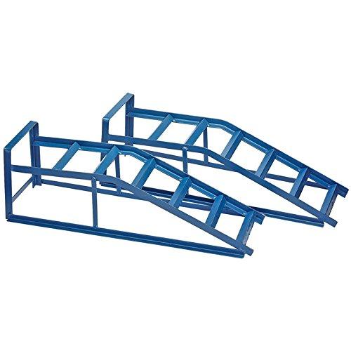 Draper Paire de rampes pour Voiture de 2,5 tonnes 23302, Blue