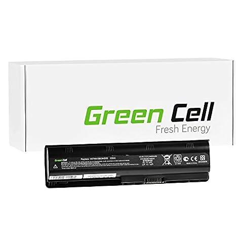 Green Cell® Standard Série Batterie pour HP Pavilion G6-1311SE Ordinateur PC Portable (6 Cellules 4400mAh 10.8V Noir)