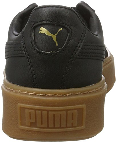 ... Puma Damen Basket Platform Core Sneaker Schwarz (Puma Black-Puma Black)  ... 7e76902967