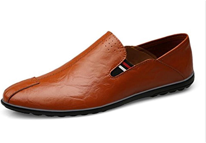 CAI Zapatos de Hombre Mocasines y Slip-Ons de Cuero Comodines de Primavera/Verano/Novedades Zapatos de Guisantes...