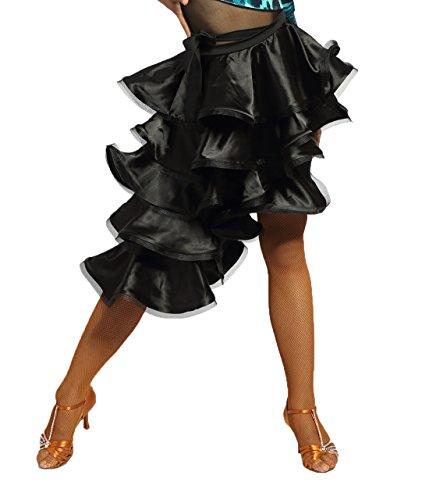 SCGGINTTANZ G2001 Profesional Falda Danza Latino Latin