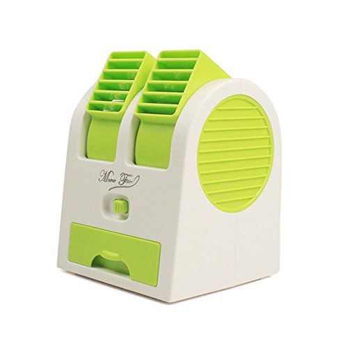 RM ENTERPRISES Mini Portable Blade less Fan Water Cooler / Air Conditioner Feeling with USB