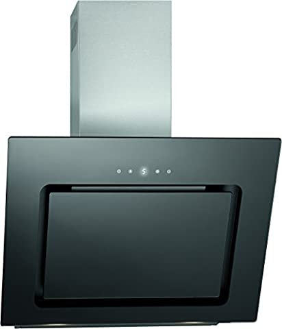 Bomann DU 771 G Kopffreie Vertikal-Dunstabzugshaube, A, 60 cm, LED-Display, LED-Beleuchtung