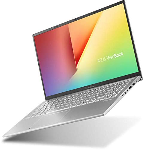 "Asus Vivobook S S412UA-EK132T PC portable 14"" Argent (Intel Core i3, 8 Go de RAM, 1To + SSD 128 Go, Windows 10) Clavier AZERTY Français"