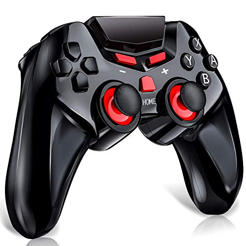 Controller für Nintendo Switch, Wireless Switch Controller mit 6-Achsen Somatosensory, HD Rumble, Motion Control, Handy Andriod Gamepad für Nintendo Switch/Android Tablet/Emulator/Oculus Gear VR -
