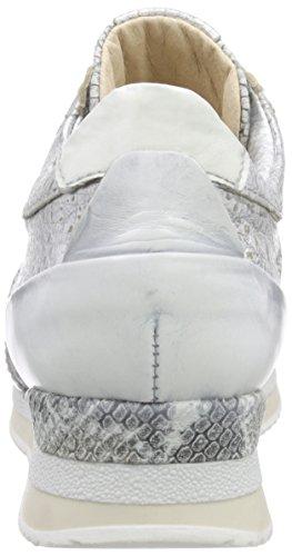 Mjus - 781111, Scarpe da ginnastica Donna Multicolore (Mehrfarbig (Argento/Iceberg/Bianco))