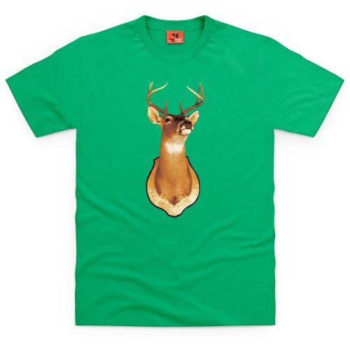 Stag T-Shirt, Herren Keltisch-Grn