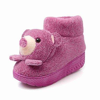 zhENfu donna pantofole & amp; flip-flops Autunno / Inverno Comfort / Round Toe Felpa casual Tacco a cuneo altri blu / viola / rosso / Purple