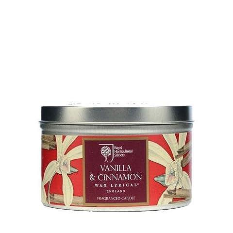 Wax Lyrical RHS Vanilla & Cinnamon Tin