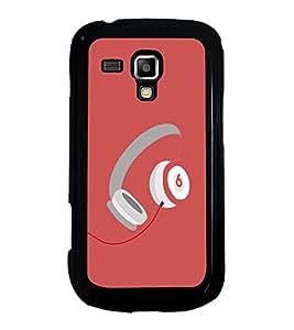 Printvisa Ultra Music Headphones 2D Hard Polycarbonate Designer Back Case Cover for Samsung G...