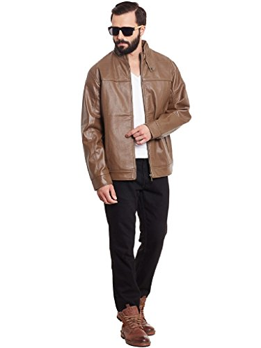 TAB91 Men's Leather Jacket