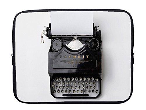 meSleep Typewriter Laptop Sleeve with Webbing Handles