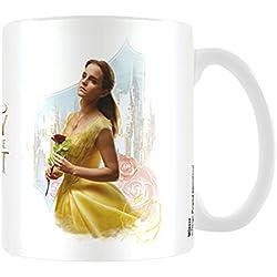 Belleza y la bestia película Belle taza de cerámica, multicolor