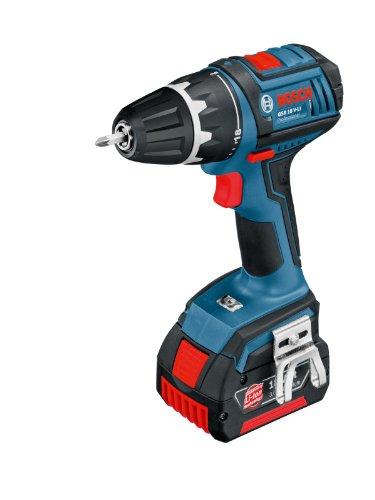 5692330a1b756d Bosch 0601866102 Perceuse sans fil 2 batteries 18V 3.0Ah