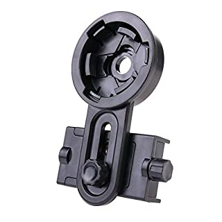 Asenart  Universal Telescope Mobile Phone Clip Smartphone Bracket Adapter.To Install the Cell Phone Monocular Connection Kit Bracket - Compatible Binocular, Monocular, Sight, Telescope, Microscope
