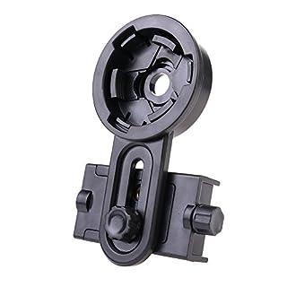 Asenart Universal Teleskop Handy Clip Smartphone Halterung Adapter.to Installation der Handy-Monokular Anschluss Kit Halterung - Kompatibel Fernglas, Monokular, Anblick, Teleskop, Mikroskop