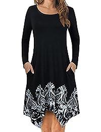 6161ccffff Kanpola Damen Nachthemden Kleid Lang Große Größen Locker Winter Worm  Baumwolle Bademäntel Morgenmäntel Elegant Schlafanzüge…