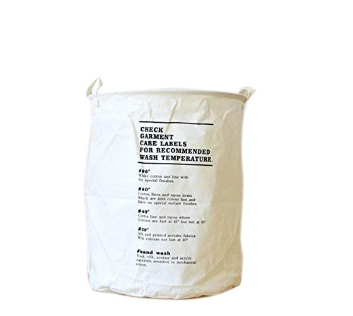 XIYILIAN Große Größe Wäschekorb, leichte Wasserdichte Kleidung Kleidung Spielzeug Lebensmittelgeschäft Wäsche waschen Ablagekorb Tasche Bin Hamper Organizer ohne Deckel - Briefe, 001