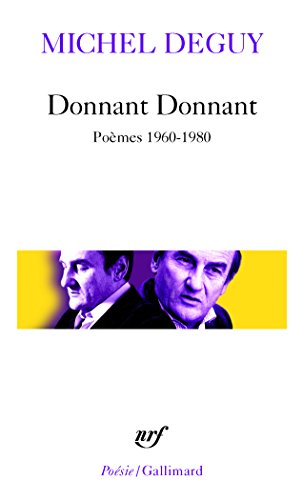 Donnant Donnant : Poèmes 1960-1970