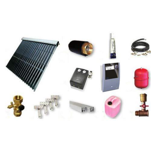 EtaSunPro® HLK 20, Solar Komplettpaket, 1-8 Vakuumröhrenkollektoren mit Zubehör 3,03 m², 1 Kollektor a 20 Röhren