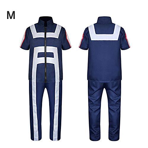 e864f8530cf0 Hifuture Traje de Cosplay de My Hero Academia Unisex Katsuki Bakugo Academy  Traje de Uniformes de Gimnasia, Azul