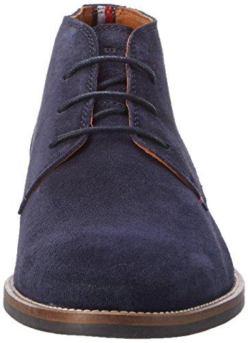 Tommy Hilfiger D2285aytona 2b, Desert Boots Homme Bleu (Midnight)