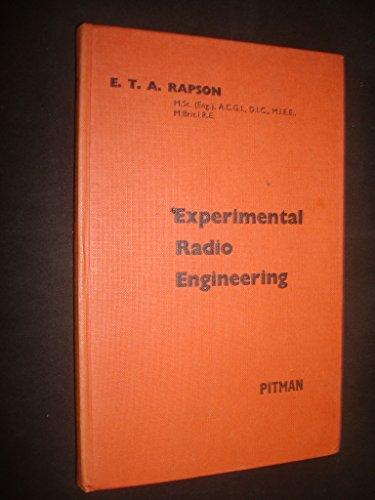 Experimental Radio Engineering by E.T.A. Rapson par E.T.A. Rapson
