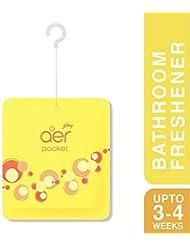 Godrej aer Pocket Bathroom Fragrance - 10 g (Bright Tangy Delight)