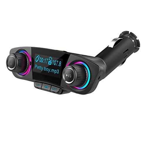 tter/Car Wireless Charger/Bluetooth Musik/Dual USB Charging/Freisprechen/Radio/TF-Kartenwiedergabe/Voice Broadcast ()