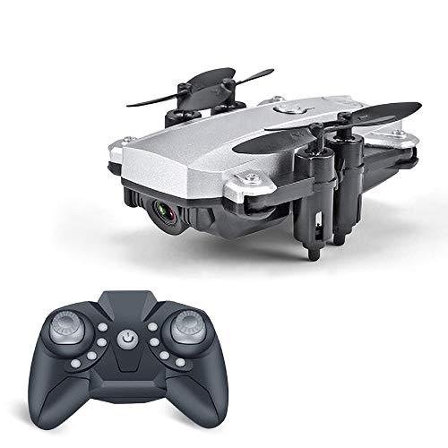 REDWALL Faltbare Drohne mit Kamera HD 1080P Helikopter Ferngesteuert mit GPS Navigation Active Track Kopfloser Modus Gestensteuerung Quick Shot Live Video Ideal für Kinder und Anfänger,Silver 4 Kanal Active Video