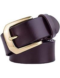 Lanceyy Cinturón De Hombre Cinturón Vaqueros De Pantalones Retro Hombre Simple Estilo Estilo Casual Hebilla De