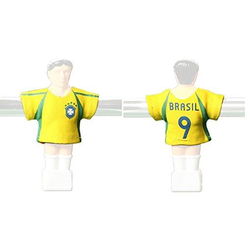 Kicker-Trikot Tischfussball Zubehör Trikot-Set Brasilien