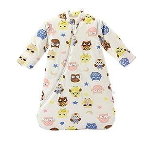 Saco de Dormir para Bebé Bebé Niño durmiente bolsa de algodón de invierno de empañar bebé al bebé recién nacido muchacha for 0-4 años de edad pueden ser usado como Blanket Recibir cochecito o la cuna