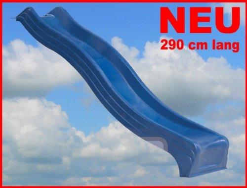 Wellenrutsche-Kunststoff-290m-BLAU
