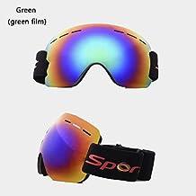 d969bdc67fd59 Gafas De Esquí Antivaho Y Gafas Esféricas Grandes A Prueba De Arena para  Hombres Y Mujeres