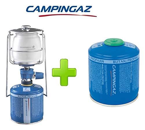 ALTIGASI Lanterne Lampe à gaz Campingaz LUMOGAZ Plus de 80 W + 1 pièce Cartouche CV 300 de 240 GR