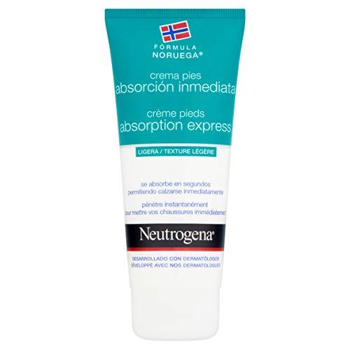 Neutrogena - Cuidado Pies, Crema de Pies Absorción Inmediata - 100 ml