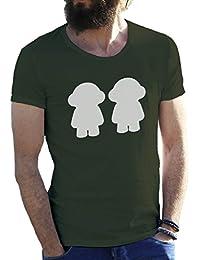 Daft Punk Happy Dolls Camiseta para hombre