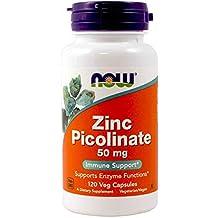 Now Foods - ZINC PICOLINATE 50mg - 120 veg caps