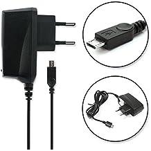 subtel® Cargador - 1.4m (1A / 1000mA) para ZTE Blade V8, V7, V7 Lite, V7 Max, V6 / L6, L5, L3 / Axon Mini / A452 / S6 (5V / Micro USB ) Cable de carga negro