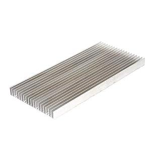 MagiDeal Radiador De Enfriamiento del Disipador De Calor De Aluminio 300x140x20m M para El Poder Más Elevado Llevado 50…