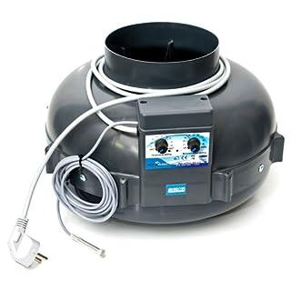RVK Air Extractor Prima Klima 800 m³/h 160mm + Temperature Control (PK160)