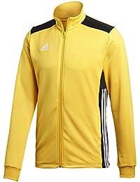 new style 2026e edf76 adidas REGI18 PES Chaqueta, Unisex niños, Amarillo (Bold Gold)   Negro,