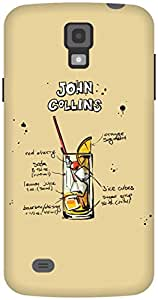 The Racoon Grip Cream John Collins hard plastic printed back case / cover for Samsung Galaxy S4 Active