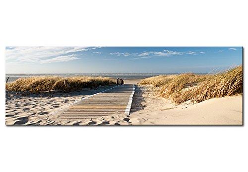 murando - Acrylglasbild Landchaft 135x45 cm - Glasbilder - Wandbilder XXL - Wandbild - Bilder - Strand c-B-0099-k-a - 7