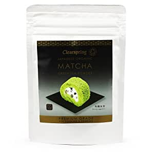 Clearspring Organic Japanese Matcha Green Tea Powder Premium Grade 40 g