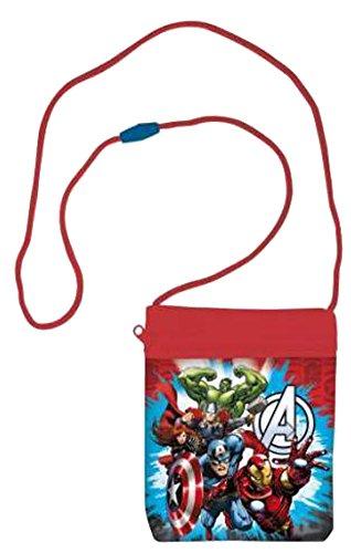 eldbeutel Portemonnaie Umhängetasche Brusttasche Geldtasche (The Avengers) (Die Avengers Von Disney)