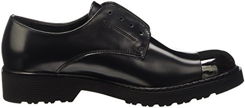 Cult Rose Low 642, Pantofole a Collo Basso Donna Nero